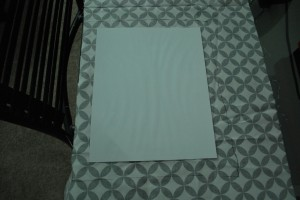 DSC 0019 300x200 DIY: Framed Fabric