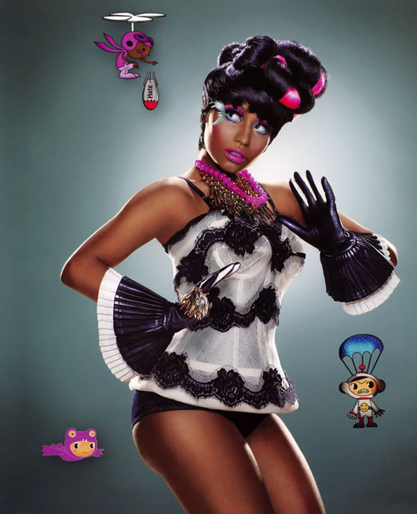 nicki 31 Nicki Minaj in Vibe Magazine