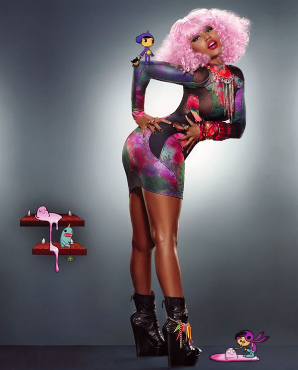 nicki 41 Nicki Minaj in Vibe Magazine