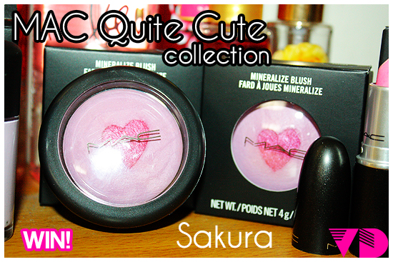 MACQCG01 VD x MAC Quite Cute Blush GIVEAWAY