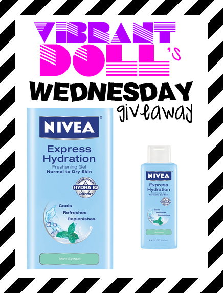 VDWG Nivea Nivea Express Hydration Freshening Gel *WG*