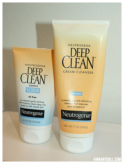Neutrogena The Face Routine: Neutrogena & Argan Oil