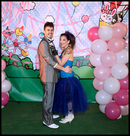 prom8 Sanrio Kitty in Pink '80s Retro Prom Party