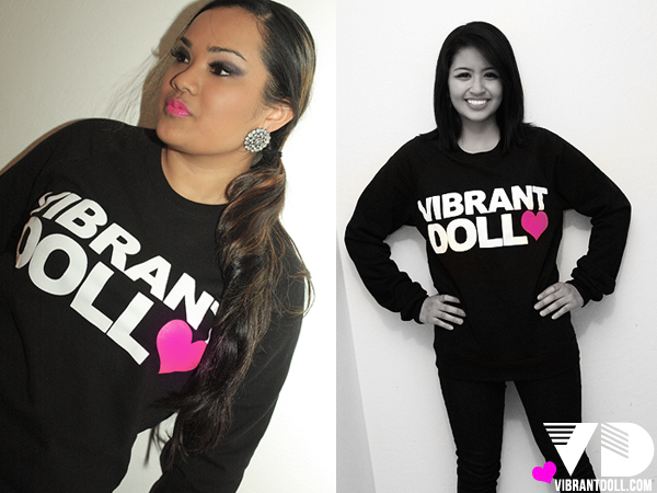 VDOFFICIAL LKBK Vibrant Doll OFFICIAL Crewneck