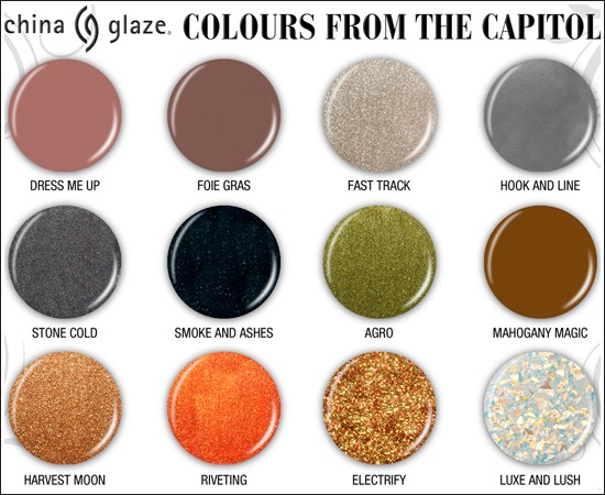 cg China Glaze Hunger Games Sneak Peek