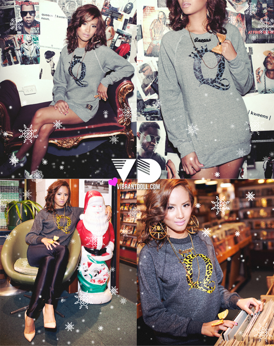 crowntheQEENSholiday QUEENS   HOLIDAY 2011 LOOKBOOK