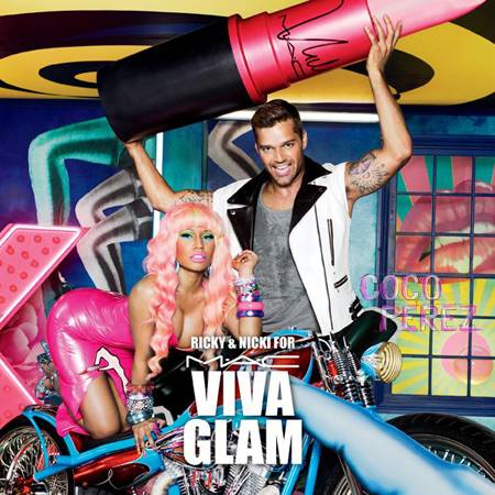 nicki minaj ricky martin viva glam ad campaign  oPt Nicki and Ricky for Viva Glam 2012