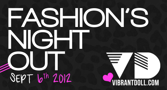 FNO VD Fashions Night Out 2012