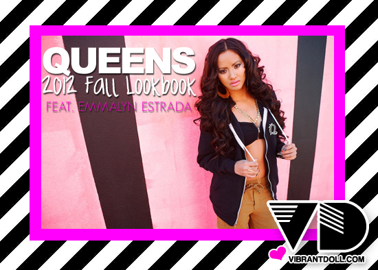 VD QueensFall2012 QUEENS 2012 Fall Apparel LookBook